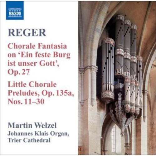 Reger: Organ Works, Vol. 8 [CD]