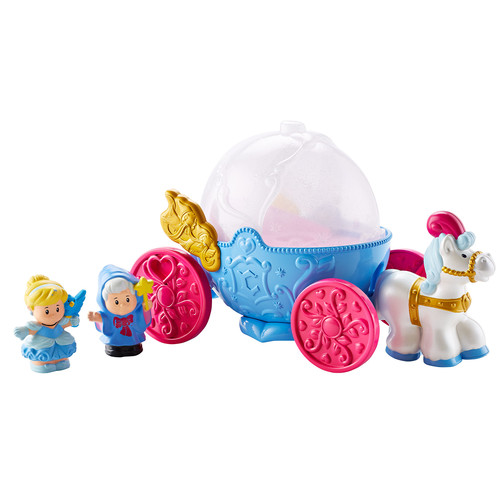 Disney Princess Cinderella's Coach with Cinderella and Fairy Godmother