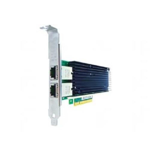 Axiom - Network adapter - PCIe 2.0 x8 - 10GBase-T x 2 - for Full-height slot PowerEdge R220, R320, R330, R420, R430, R520, R530, R620, R630, R715, R720, R720xd, R730, R730xd, R820, R910, R920, R930, T