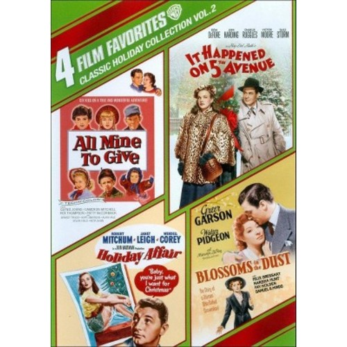 Classic Holiday Collection, Vol. 2: 4 Film Favorites [4 Discs] [DVD]