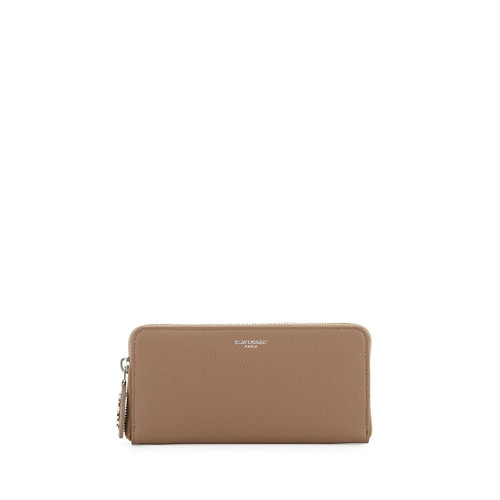 SAINT LAURENT Rive Gauche Zip Wallet