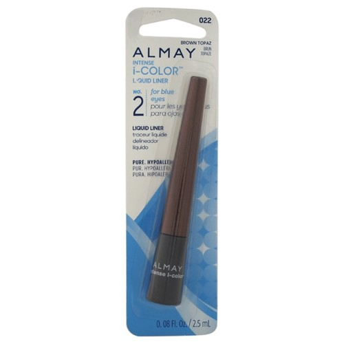 Almay Intense i-Color Liquid Liner for Blue Eyes, #022 Brown Topaz
