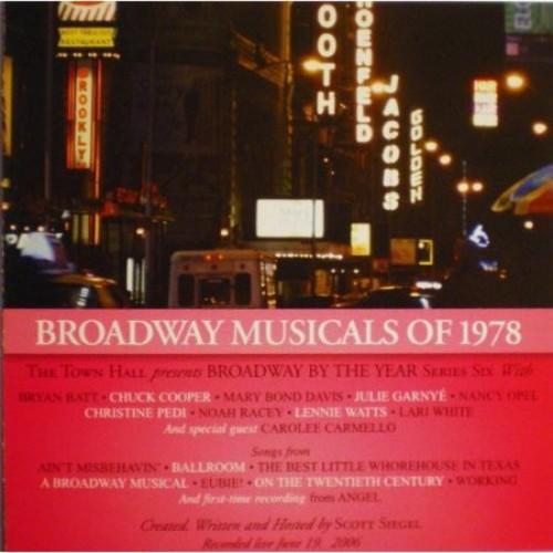 Broadway Musicals of 1978 [CD]