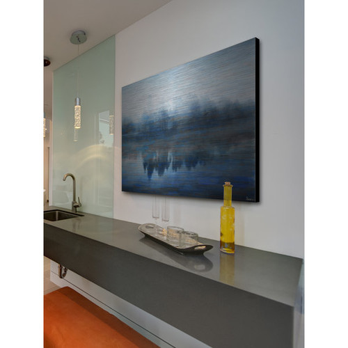 Marmont Hill 'Lake Marmont' Aluminum Art