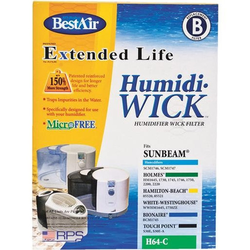 RPS Products, Inc. Humidifier Wick Filter H64 Unit: EACH