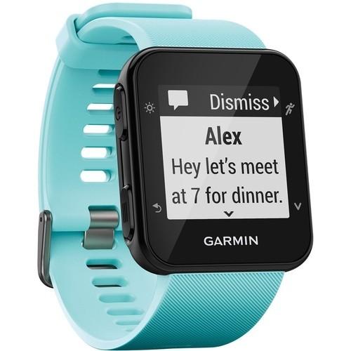 Garmin - Forerunner 35 GPS Watch - Frost blue
