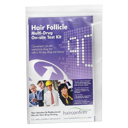 Confirm Biosciences HairConfirm Express Hair Follicle Multi-Drug On-Site Test Kit