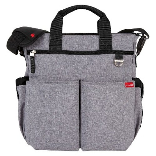 Skip Hop Duo Signature Diaper Bag - Heather Gray