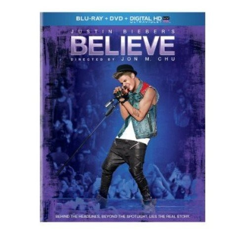 Justin Bieber's Believe (Blu-ray + DVD + Digital Copy)