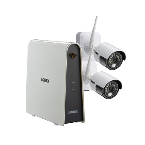 Lorex 6-Channel 2-Camera 1080p Wire-Free Security System with 32GB DVR