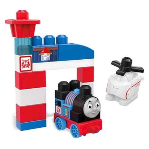 Mega Bloks Thomas and Friends Thomas and Harold Rescue Building Bag