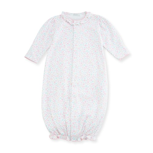 Dina Darlings Pima Convertible Gown, Size Newborn-S