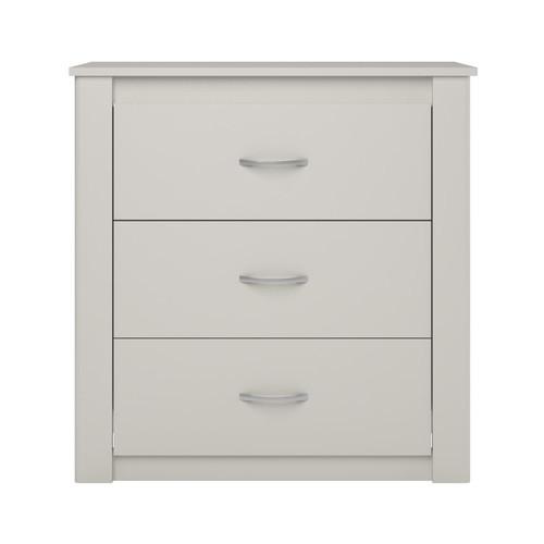 Dorel Riley White 3-Drawer Dresser