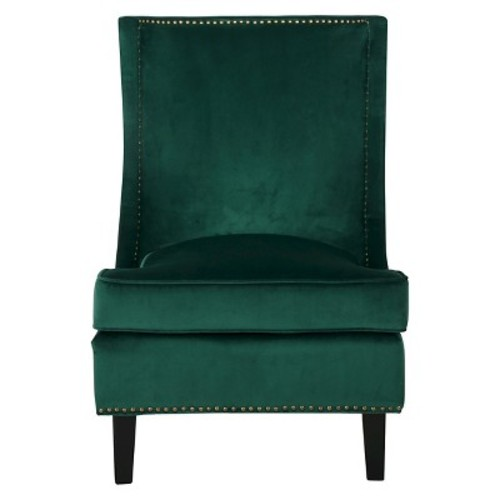 Carole New Velvet Single Sofa Accent Chair - Christopher Knight Home
