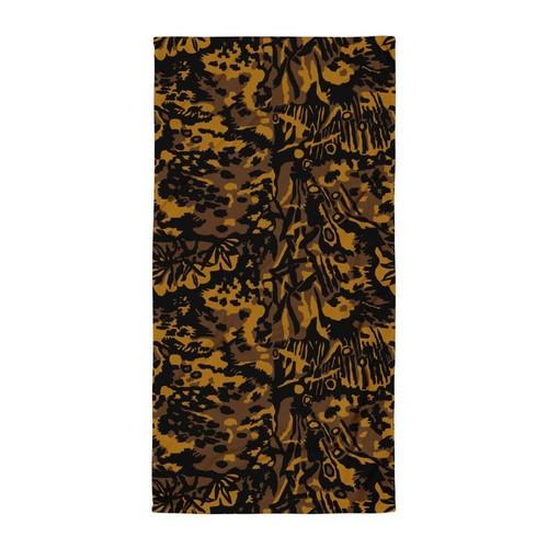 German WWII SS Palm Autumn CAMO Towel