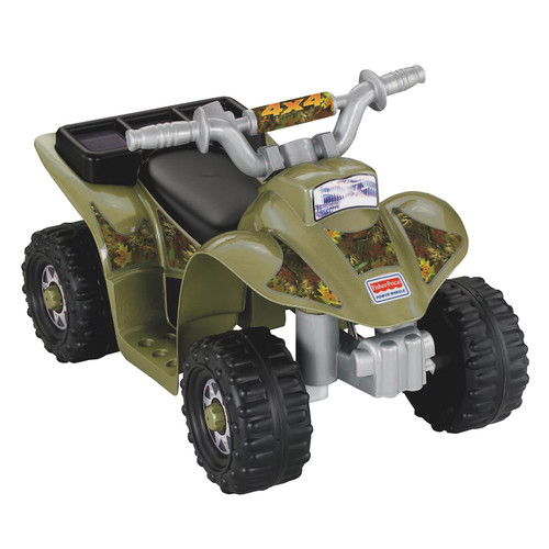 Fisher-Price Power Wheels Camo Lil' Quad