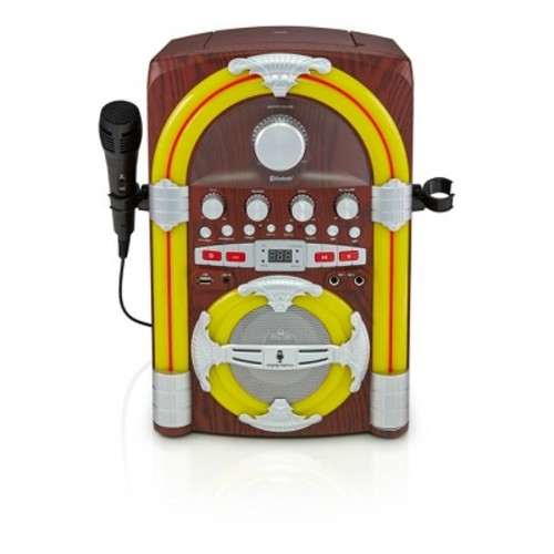 Singing Machine Audio Streaming Karaoke Jukebox - Black