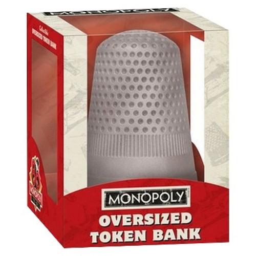 USAopoly Monopoly: Oversized Thimble Token Bank