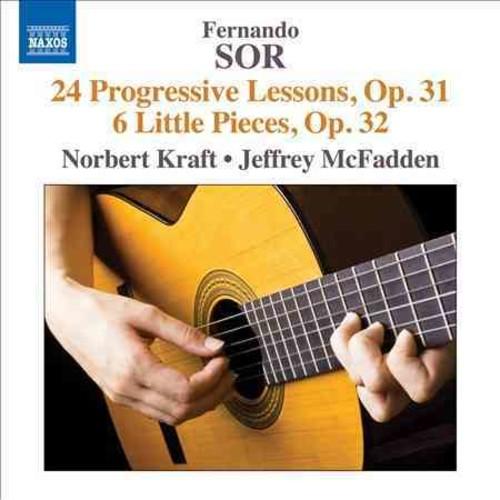 Fernando Sor - Sor: 24 Progressive Lessons, Op. 31 & 6 Little Pieces, Op. 32