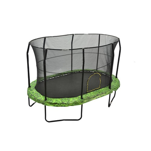 JUMPKING 9 ft. by 14 ft. Fern Trampoline Enclosure Combo
