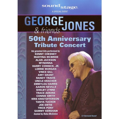 A Concert Tribute to George Jones [DVD]