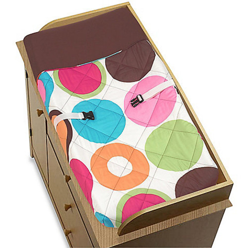 Sweet Jojo Designs Deco Dot Changing Pad Cover