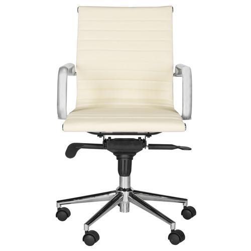 Safavieh Loreley White Contemporary Desk Chair