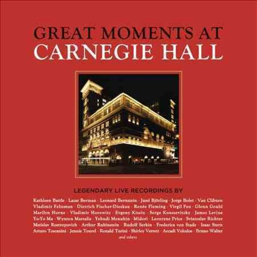 Various - Great Moments At Carnegie Hall