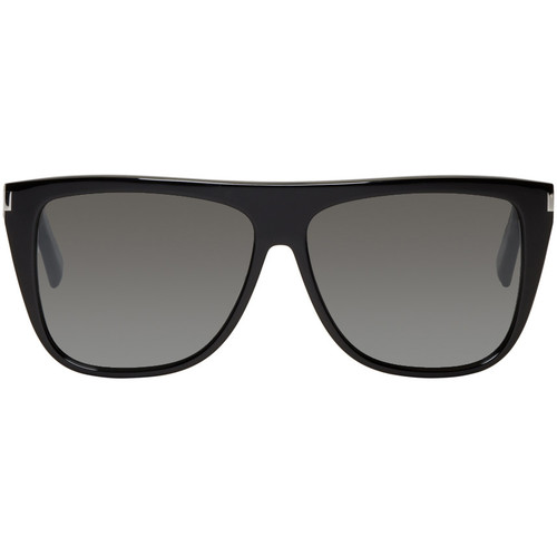 SAINT LAURENT Black Sl 1 Bold Sunglasses