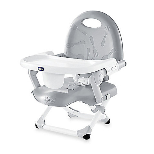 Chicco Pocket Snack Booster Seat in Grey