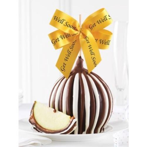 Triple Chocolate Get Well Soon Ribbon Apple