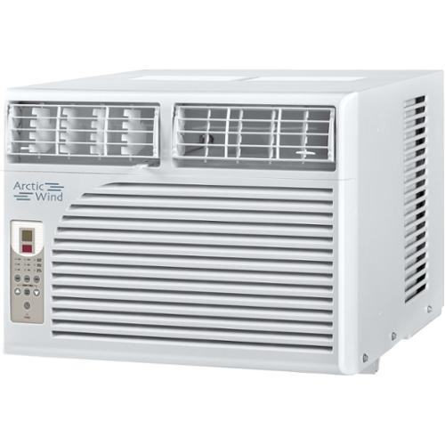 Arctic Wind Energy Star 8,000 BTU White Window Air Conditioner