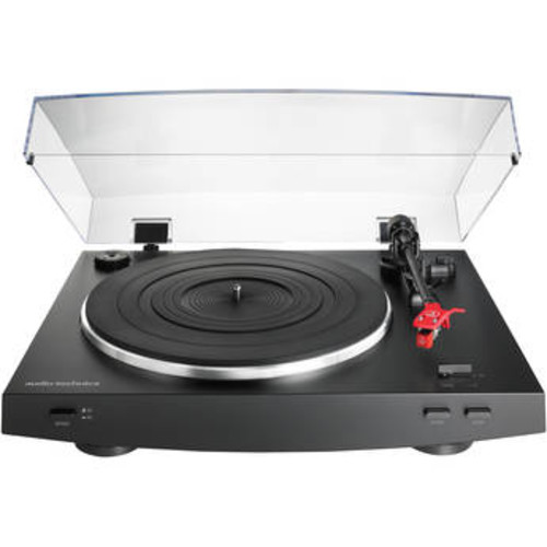 Audio Technica Fully Automatic Belt-Drive Stereo Turntable - Black
