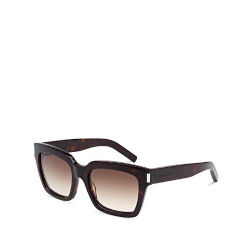 SAINT LAURENT Bold 1 Oversized Square Sunglasses, 54Mm