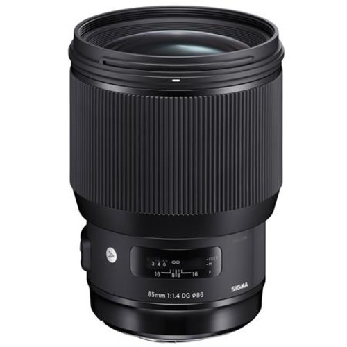 Sigma 85mm f/1.4 DG HSM ART Lens for Nikon DSLR's With Premium Accessory Bundle