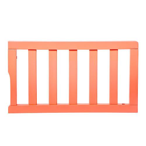 Dream On Me Universal Convertible Crib Toddler Guard Rail - Fusion Coral