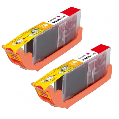 Compatible Canon CLI-251XL/ 6450B001 High Yield Magenta Ink Cartridges (Pack of 2)