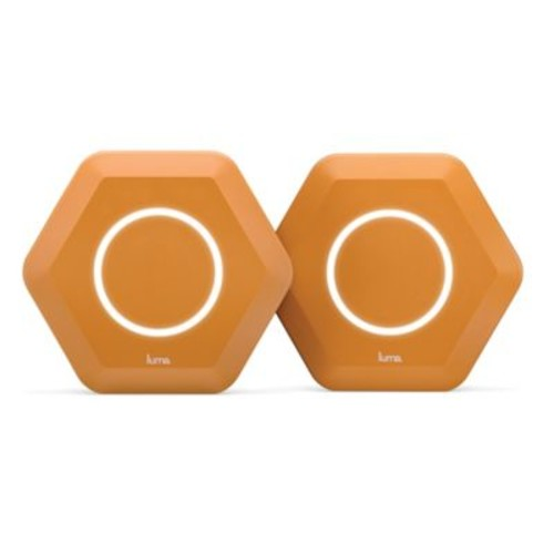Luma Whole Home WiFi Router System in Orange (Set of 2)