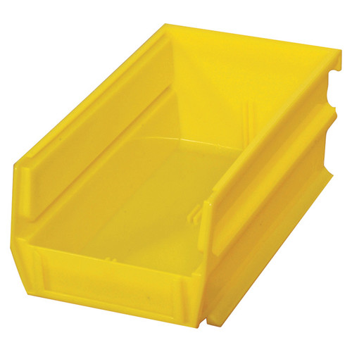 Triton Products LocBin Hanging and Interlocking Bins  24-Pk., Yellow, 7 3/8-In.L x 4 1/8-In.W x 3-In.H, Model# 3-220Y