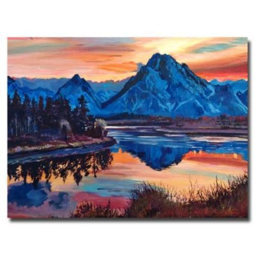 Trademark Fine Art 'Mountain Serenade' 18