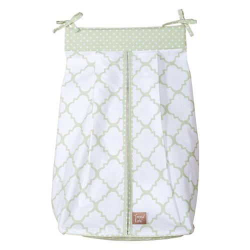 Trend Lab Baby Sea Foam Diaper Stacker