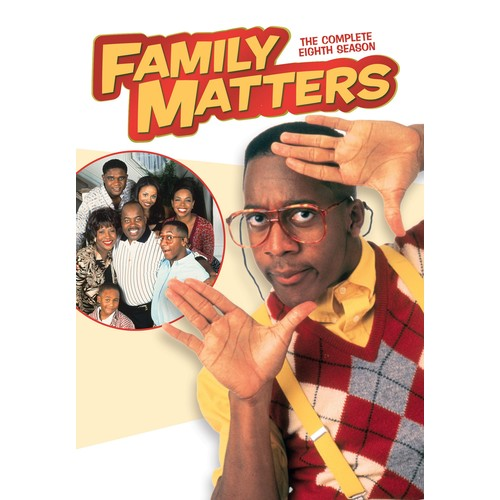 Family Matters: The Complete Eighth Season [3 Discs] [DVD]