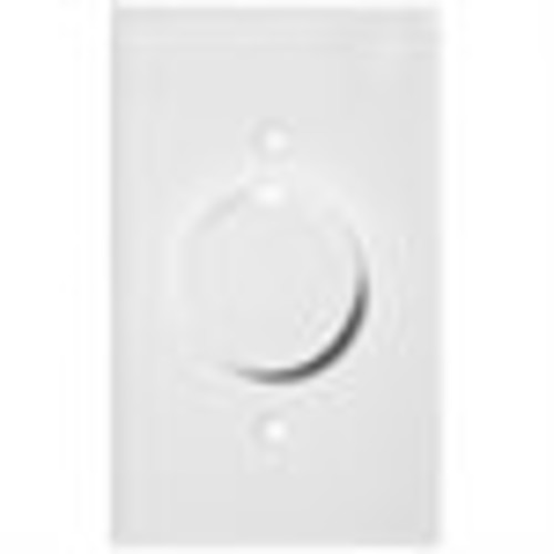 Morris 82711 Rotary Dimmer, Single Pole, Turn On/Off, White [1]