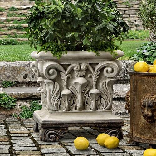 Bombay Outdoors Corinthian Urn Planter - Indoor / Outdoor