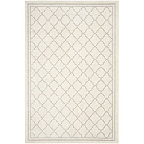 Safavieh Amherst Collection AMT422E Beige and Light Grey Indoor/ Outdoor Area Rug