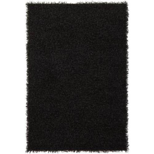 Chandra Zara Black 9 ft. x 13 ft. Indoor Area Rug