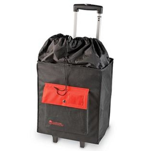 Learning Resources A+ Carry-All Rolling Organizational Caddy, Black