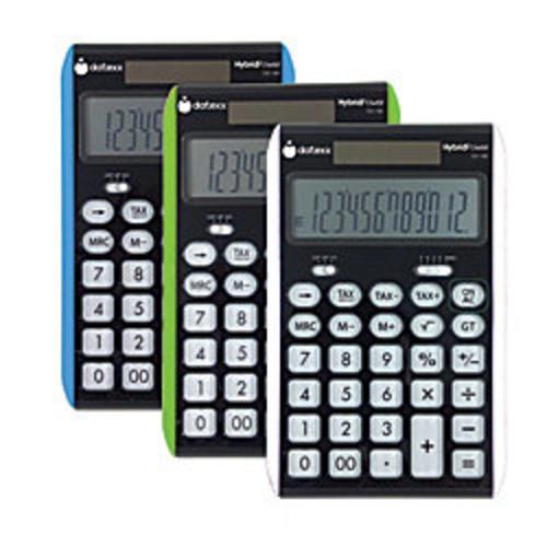 Datexx DD-180 Desktop Calculator, Assorted Colors