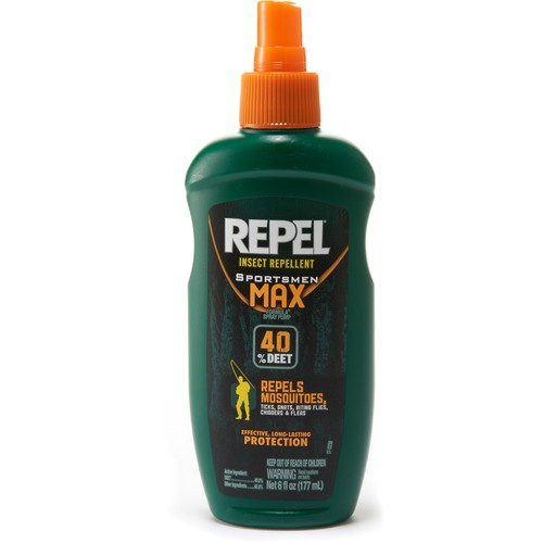 Sportsmen Max Formula Pump Spray Insect Repellent - 40 Percent DEET - 6 fl.oz.