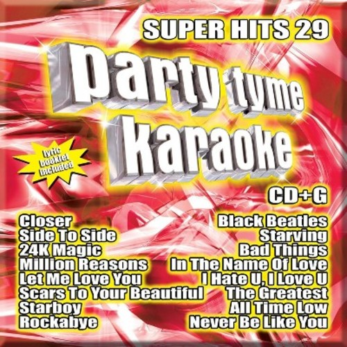 Party Tyme Karaoke: Super Hits, Vol. 29 [Audio CD]